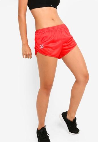 FBT red Running Shorts Curve Cut D17A4AA268C2EFGS_1