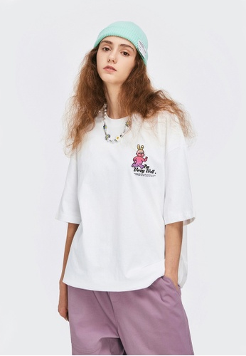 Twenty Eight Shoes Trend Printed Short T-shirt 1639S21 F9B6BAAAA2D15EGS_1