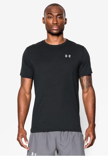 Under Armour black Threadborne Streaker T-Shirt UN337AA0SU02MY_1
