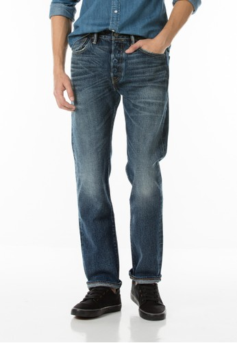 Levi's 501 Original Fit Selvedge - Heavy Wood