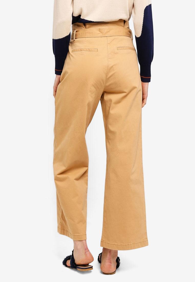 Camel Waist ESPRIT Belt ESPRIT Waist Pants Belt Pants qU4PzOx