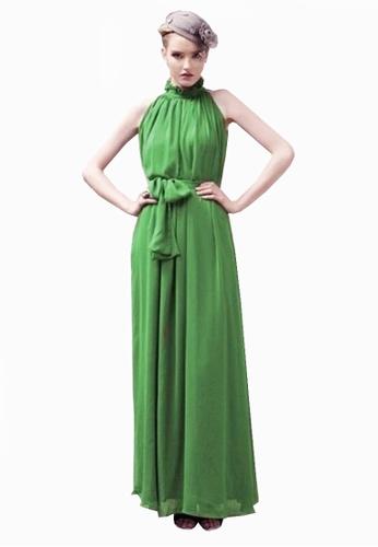 Twenty Eight Shoes green VANSA Chiffon Maxi Dress  VCW-D0183 3761FAA1C6220EGS_1