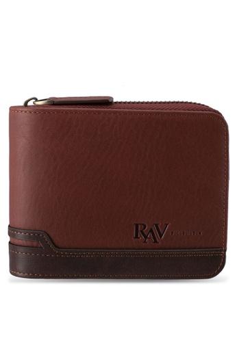 RAV Design brown Leather Wallet RA113AC0SJ9BMY_1