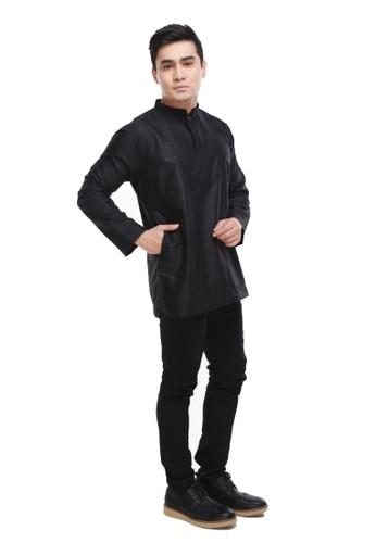 Amar Amran black Kurta Al Idrus 2.0 50E84AADF862ACGS_1