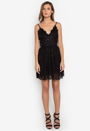 NOBASIC black Grace A-line Slip Dress NO444AA0FQHXSG_1