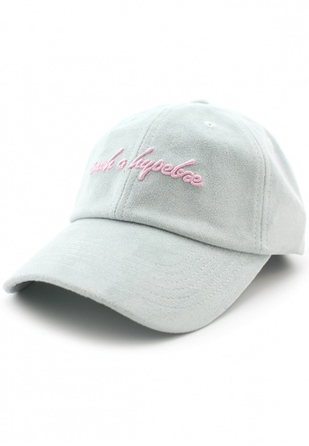 DOSSCAPS pink and green FLIPPER Such Hypebae Dad Cap (Mint) 1054FAC40A1E04GS_1