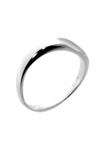 The LoveMark silver Wave Ring for Men lr0025m TH516AC68VAXPH_1