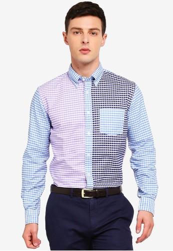 Brooks Brothers multi Red Fleece Gingham Cotton Oxford Fun Shirt F01AAAA023F805GS_1