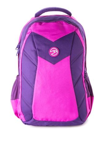Hawk purple Durashield Fabric 4800 - HWK Backpack Bag HA267AC66GQRPH_1