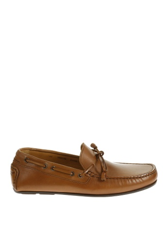 Sebago brown Tirso Tie Driving Shoes SE328SH29OVQPH_1