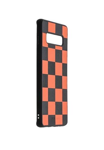 POROLUXE orange PHONE CASE FOR SAMSUNG S10+ 9ABA9AC63B108BGS_1