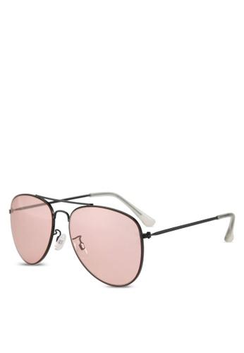 ALDO pink Triesenberg Sunglasses/Aviator D1D59GL32BFE48GS_1