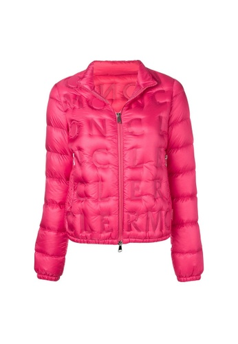 "Moncler pink Moncler ""Vilnius"" Down Jacket in Rosa C2624AAF2D59D9GS_1"
