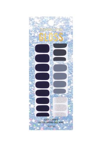 Dashing Diva blue Dashing Diva Gloss Gel Strip Manicure Silent Night /Nail Sticker /Nail Wraps BFD72BE15AE845GS_1
