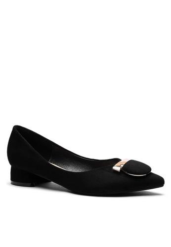 Twenty Eight Shoes black 2.5CM Pointy Pumps 333-57 F19F7SH610F559GS_1
