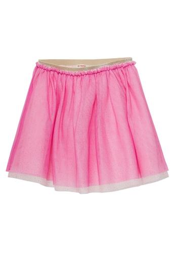 Du Pareil Au Même (DPAM) pink Casual Skirt A0C2BKA98A9BA7GS_1