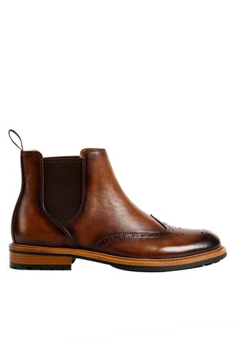 Twenty Eight Shoes Bittters Vintage Leather Chelsea Boot G03-9 F5342SH5884658GS_1