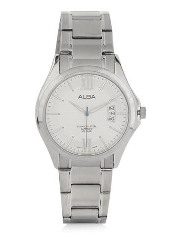 Alba silver Analog Watch As9961 AL383AC0V8F4ID_1