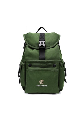 The Dude green Mad Backpack 7C1C8AC268C1B3GS_1