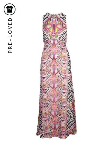 Mara Hoffman white Pre-Loved mara hoffman Geometric Printed Dress DA392AA158C652GS_1