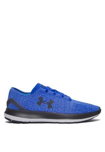 Under Armour blue UA SpeedForm Slingride Tri Shoes UN337SH08KDJMY_1