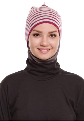 Mybamus Knitted Inner Arabian Purple