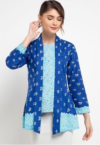 Brahmani Batik blue Amalia Batik Kebaya Cap 70505AA550D241GS_1