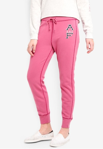 Abercrombie & Fitch pink Seasonal Core Jogger 969D2AAB39CD63GS_1