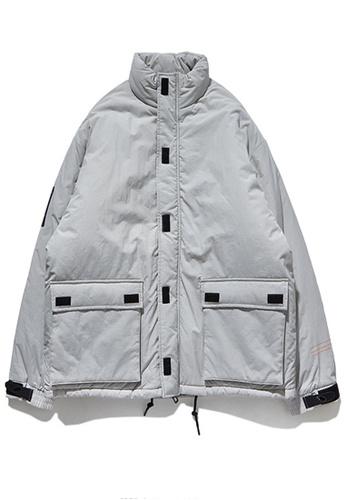 Twenty Eight Shoes grey Street Style Thickened Warm Coat 8761W 2F5FBAA9347507GS_1