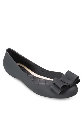 蝴蝶結果凍平底鞋,esprit地址 女鞋, 芭蕾平底鞋