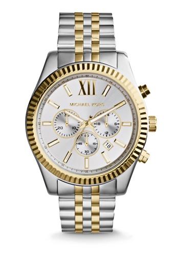 Michael Kors multi Lexington Chronograph Watch MK8344 38628ACD490BC2GS_1