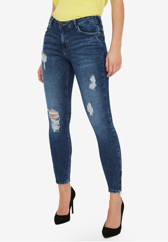 Noisy May blue Kimmy Ankle Jeans Skinny Jeans 004C4AA59CE074GS_1
