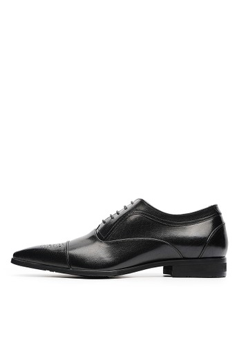 MIT義式雋永。頂級打蠟牛皮商務皮鞋-0esprit鞋子4714-黑色, 鞋, 皮鞋