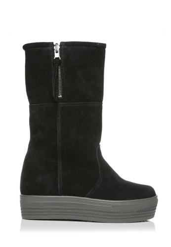 messe black SlipOn Boots ME313SH88FSXHK_1