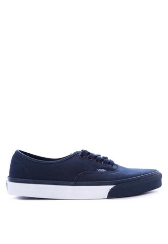 Vans blue Authentic Sneakers 415DDSHBFCBCE2GS_1