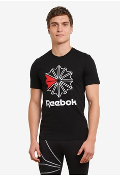 Reebok black F Graphic Tee RE691AA0SVXAMY_1