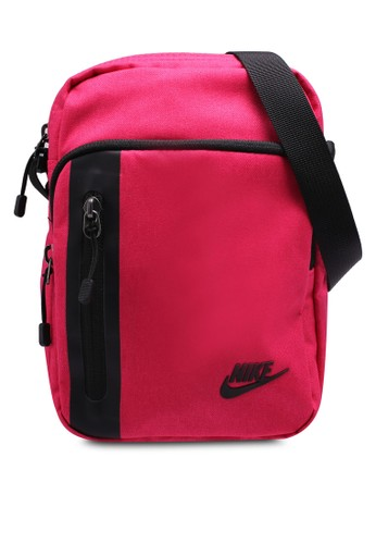Nike pink and multi Nike Tech Small Items Bag 13046AC6FC3C55GS 1 301d375b81