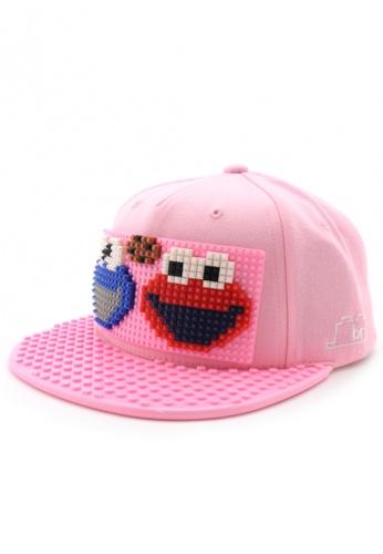DOSSCAPS pink BRICKBRICK Sesame Street Basic Set - Pink (Small) F9880AC4A05694GS_1