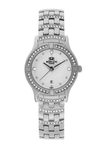 Roscani silver Roscani Emilia B63 (Triangle Wave Dial) Stainless Steel White Bracelet Women Watch 33F2EAC37B771DGS_1