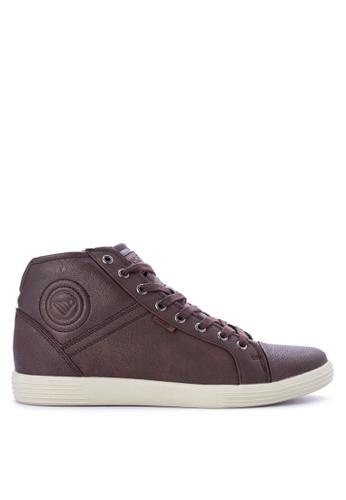 Jump brown IPSUM  Sneakers 4ECD6SH89E837EGS_1