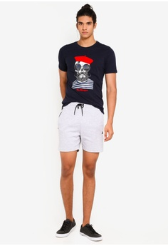 285b663670 10% OFF Jack & Jones Boules Slim Fit Crew Neck Tee RM 89.00 NOW RM 80.00  Sizes S M L XL XXL