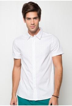 Marqui Mini Dot Print Short Sleeve Shirt
