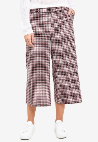 Sisley white Straight Wide-leg Trousers 15760AAB398DFEGS_1
