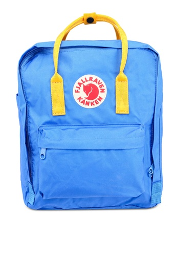 Fjallraven Kanken yellow and blue Kanken Classic Backpack FJ242AC0UD12ID_1