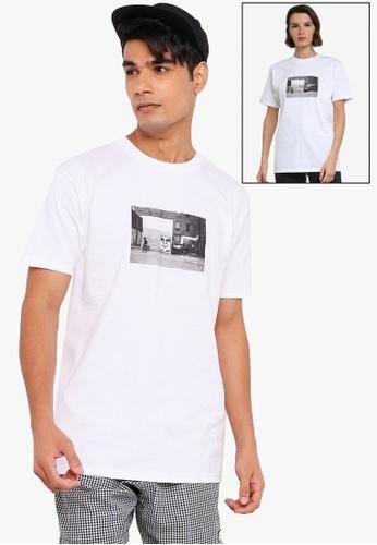 OBEY white Icon Face Toronto Tee 72791AA04CE04DGS_1