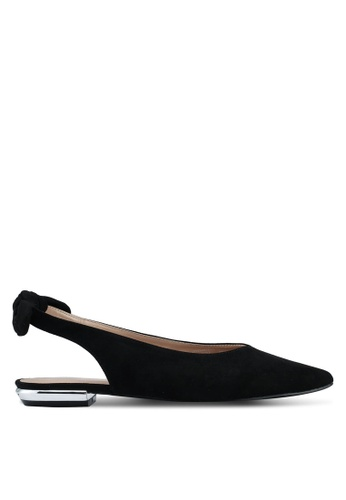 Miss KG black Black Flat Ballerina Shoes 26782SHC919FEBGS_1