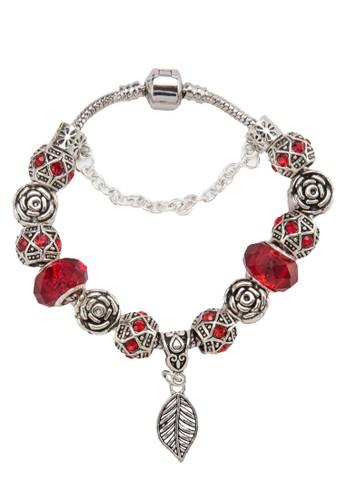 葉子吊飾手環, zalora是哪裡的牌子飾品配件, 手鐲 & 手環