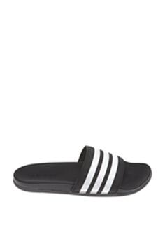 44cd4deea adidas black adidas adilette cloudfoam plus stripes slides  71E86SHD6C09DBGS_1