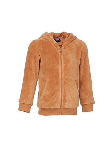Universal Traveller brown Universal Traveller Fleece Jacket With Deer Hood (Kids) - FJK 9084 B2196KA5C892B5GS_1
