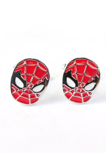 Splice Cufflinks Spiderman Cufflinks SP744AC95DMMSG_1